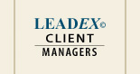 Leadex client managers